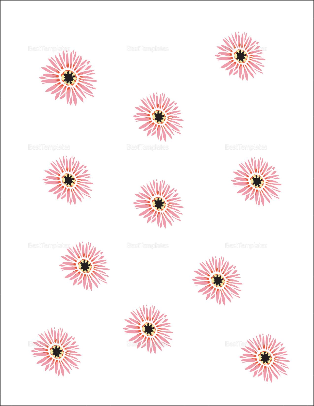 Floral Wedding Envelope Design Template