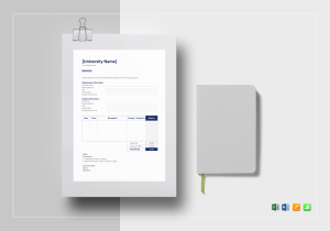 Education Invoice Template  Mock Invoice Template