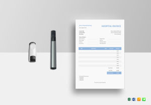 Medical Invoice Template  Mock Invoice