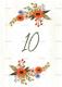 Wedding Table Card Design Template