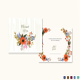 Summer Floral Thank You Card Template