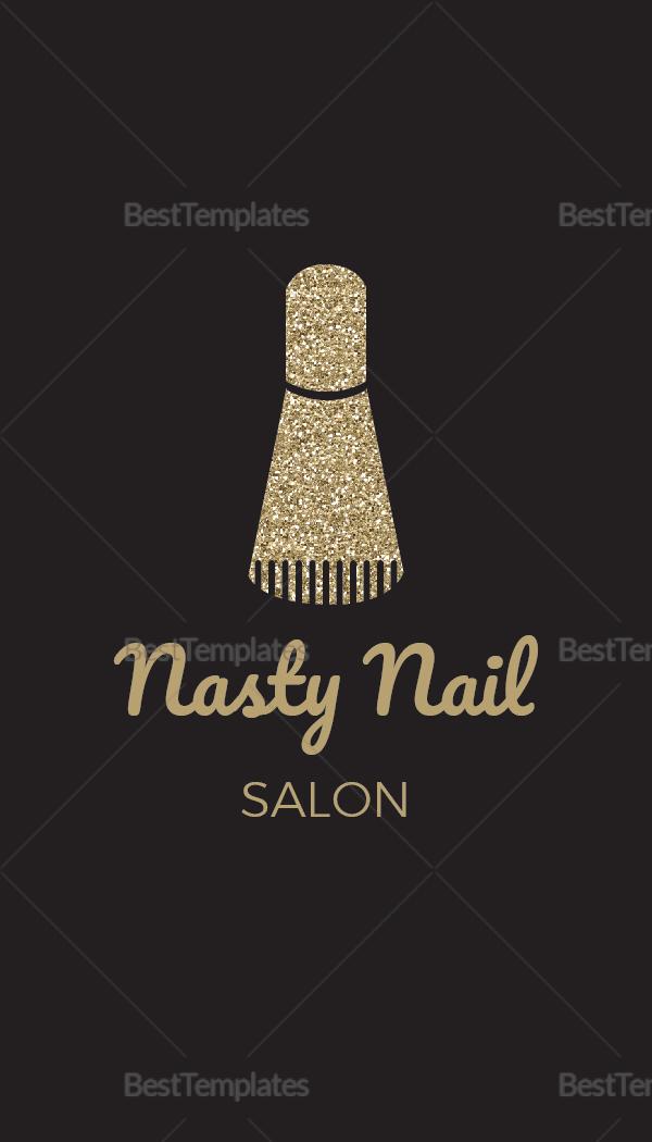 Nail Salon Business Card T