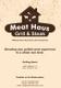 Meat Menu Design Template