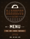 BBQ Menu Design Template