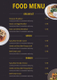 Modern Restaurant Menu Template