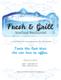 Seafood Menu Design Template