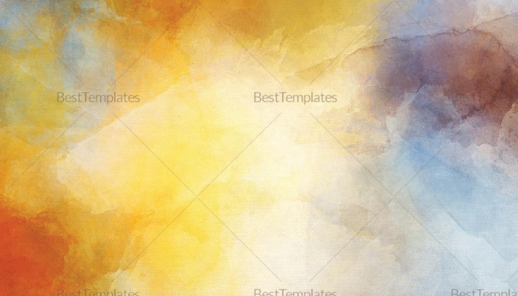 Artist Business Card Design Template