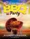 Summer BBQ Flyer Design