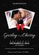 Modern Wedding Invitation Card Design Template