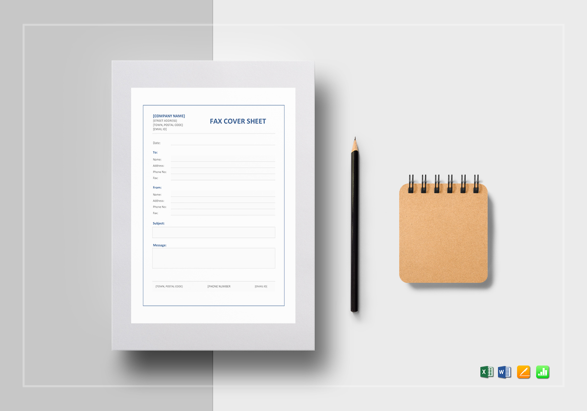 fax cover sheet template in word excel apple pages numbers