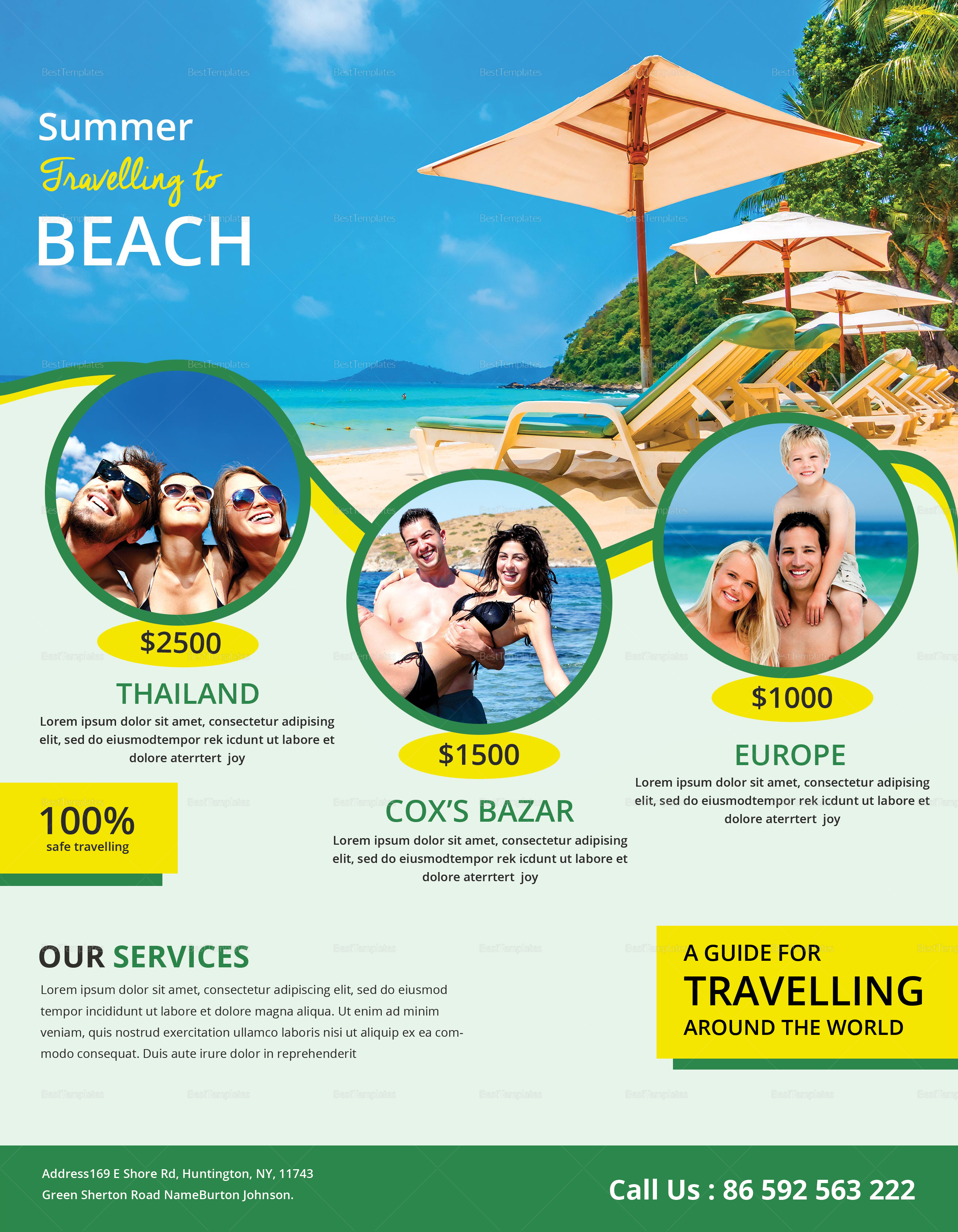 Travel Flyer Design