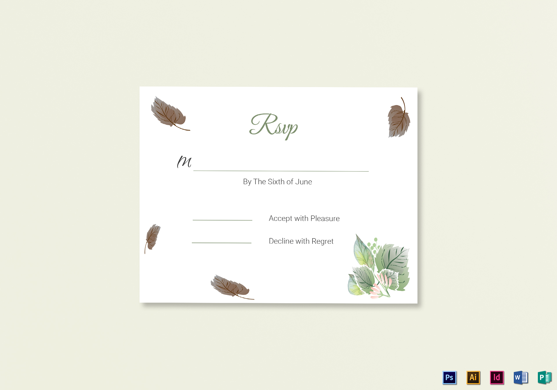 15 Fresh Rsvp Card Template | Best Template