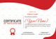 Squash Participation Certificate Design Template