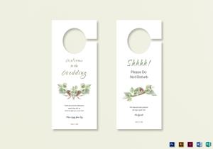 /2570/Wedding-Door-Hanger