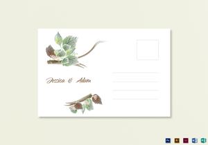 /2581/Wedding-Post-Card