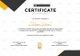 Soccer Excellence Certificate Design Template