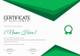 Sports Achievement Certificate Design Template