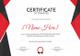 Sports Training Certificate Design Template