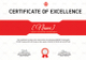 Shooting Excellence Certificate Design Template