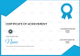 Sailing Achievement Certificate Design Template