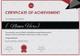 Weight Lifting Award Achievement Certificate Template