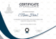 Yoga Excellence Certificate Template