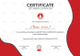 Yoga Participation Certificate Template