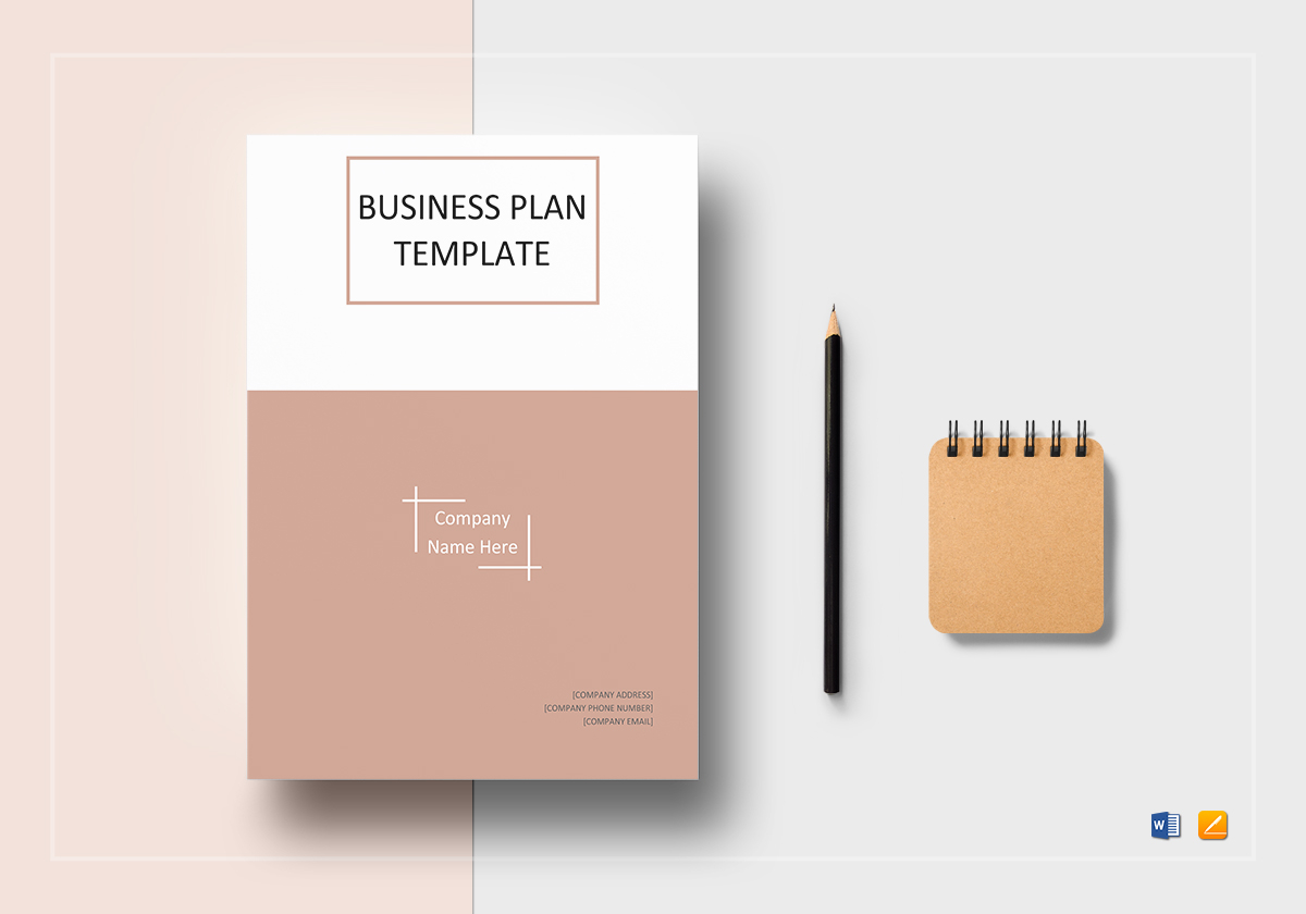Business plan template in word google docs apple pages one page business plan template accmission Gallery