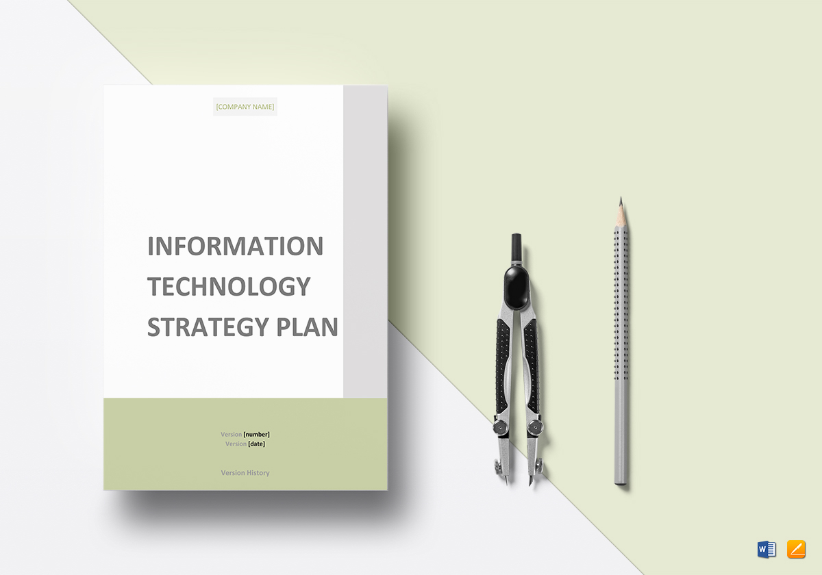 IT Strategy Plan Template
