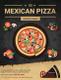 Restaurant Mexican Pizza Flyer Design