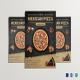 Restaurant Mexican Pizza Flyer