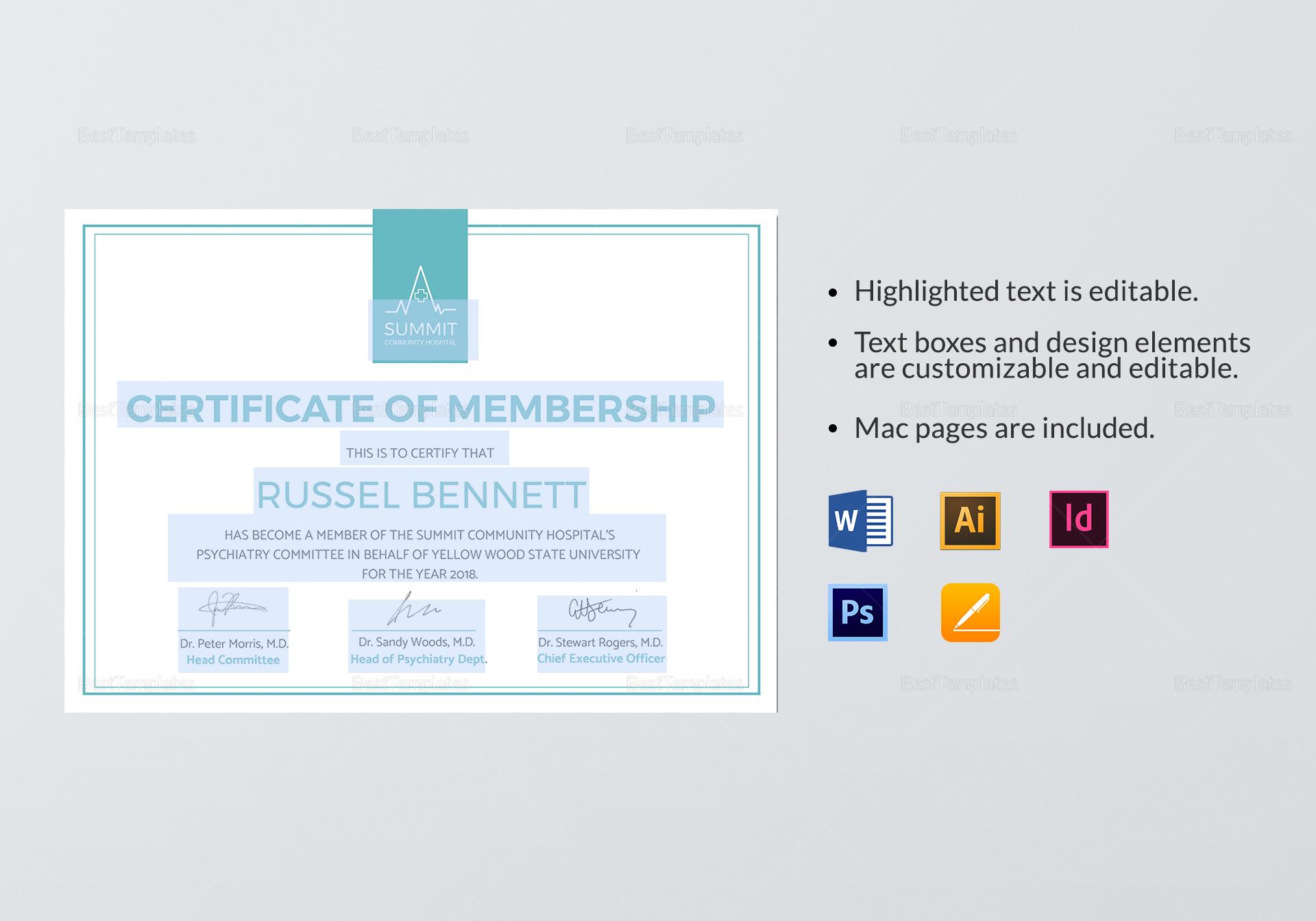 Medical Membership