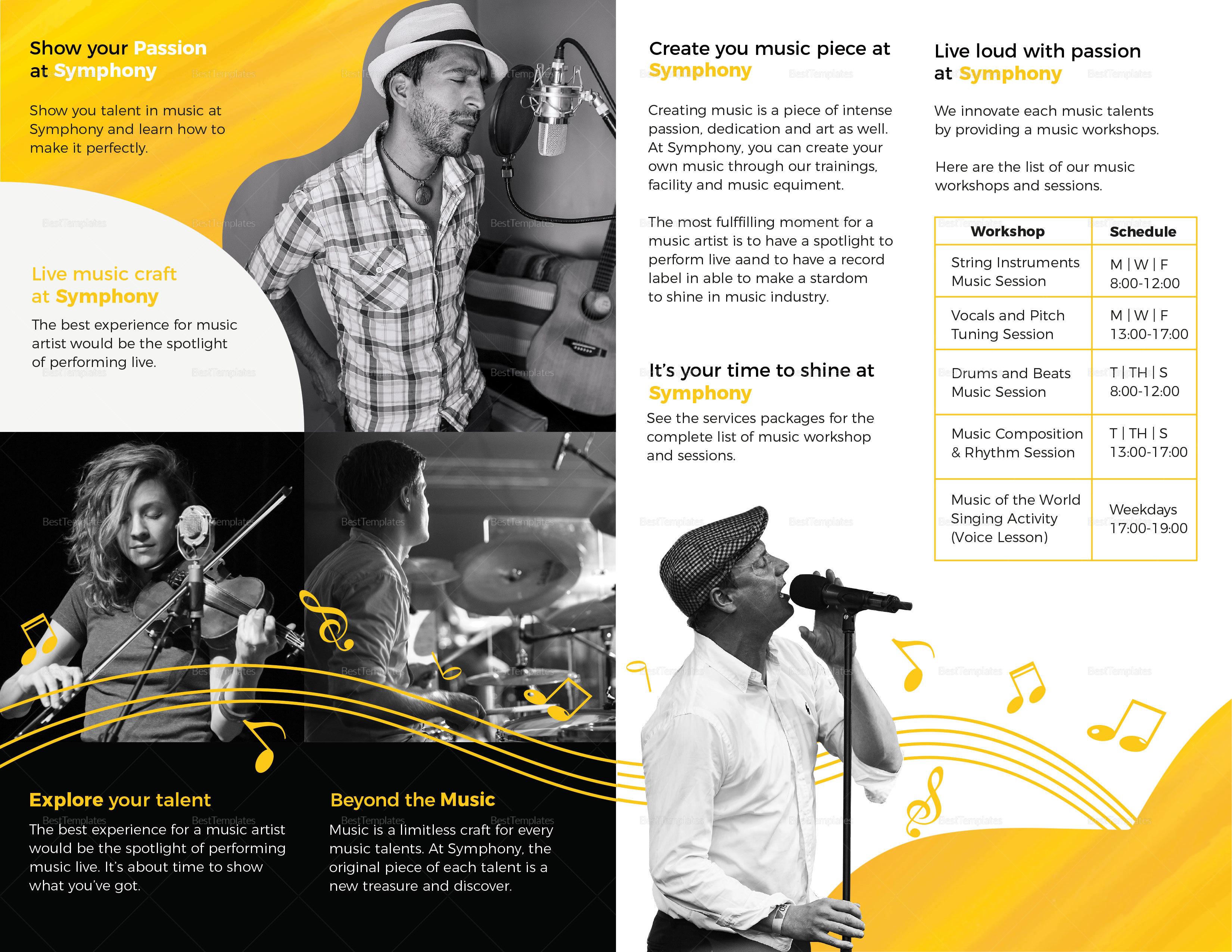 Creative Music Bi-fold