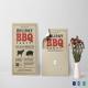 Barbecue Party Invitation Card Template
