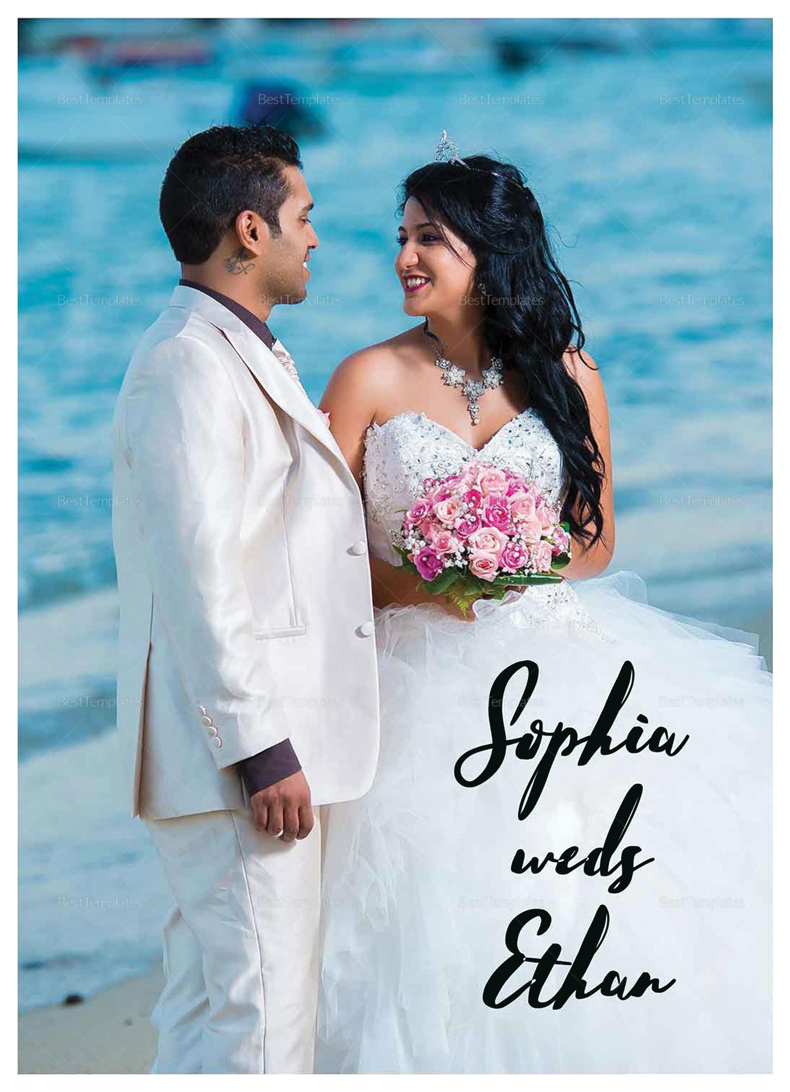 Wedding Photography Invitation