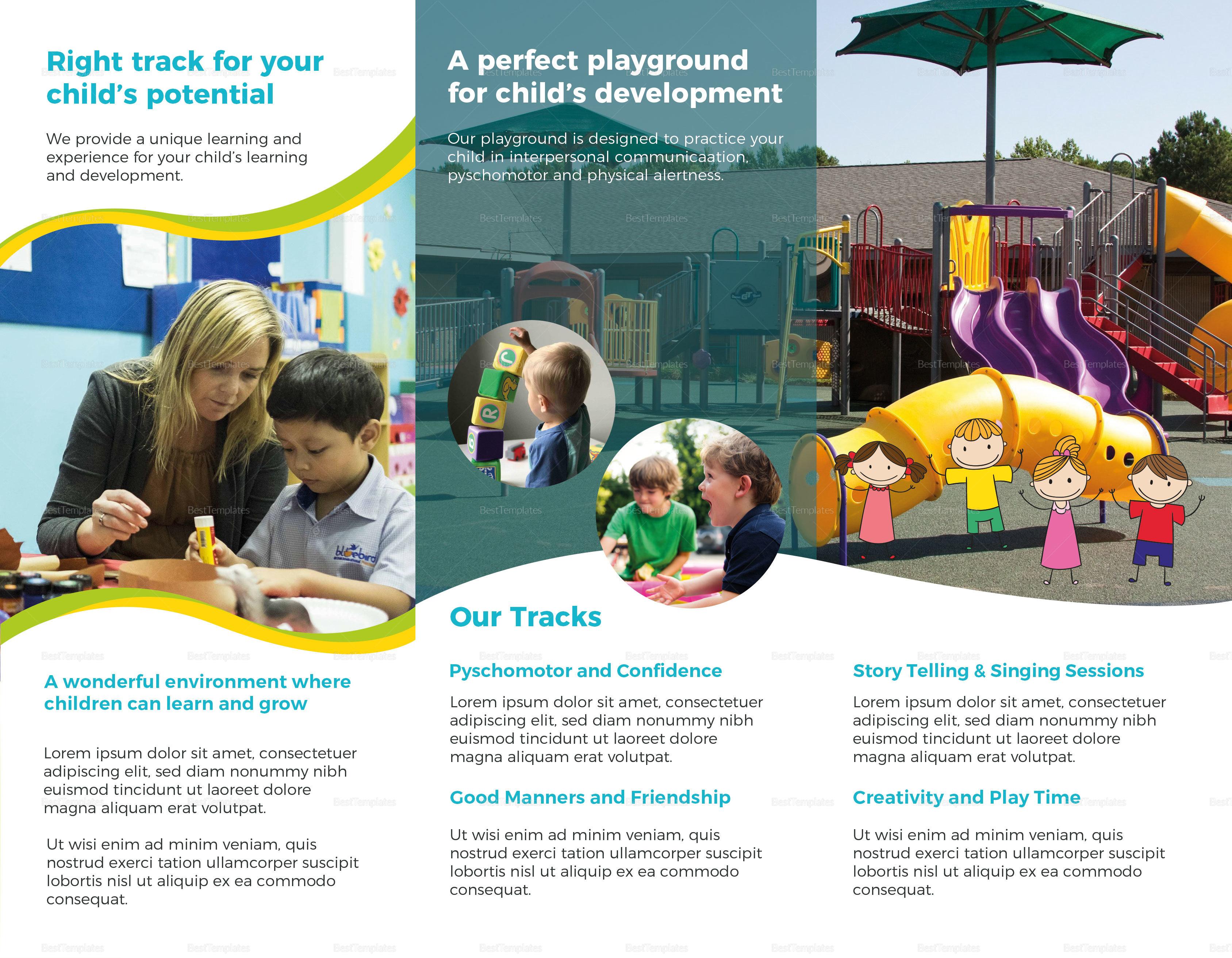 Pre School Brochure T