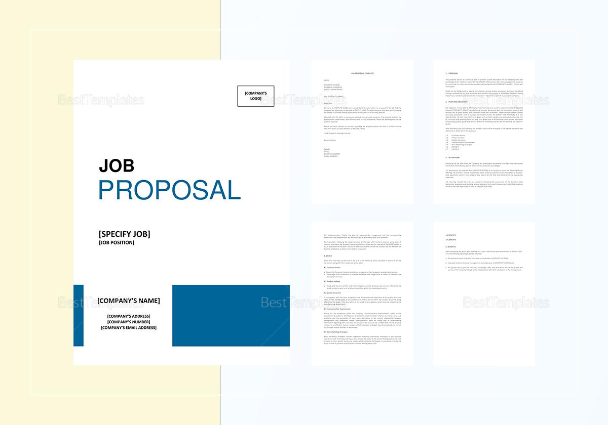 Sample Job Proposal