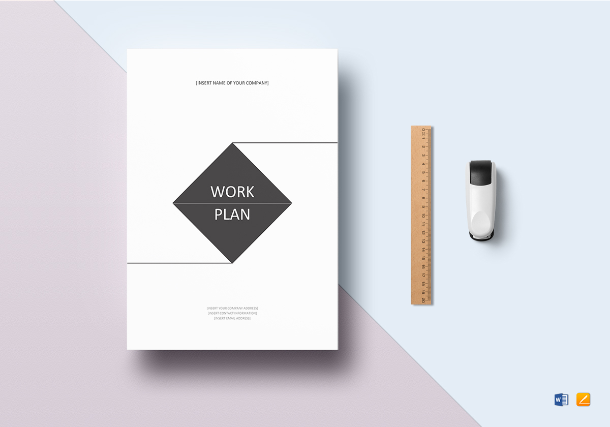 Work Plan Template