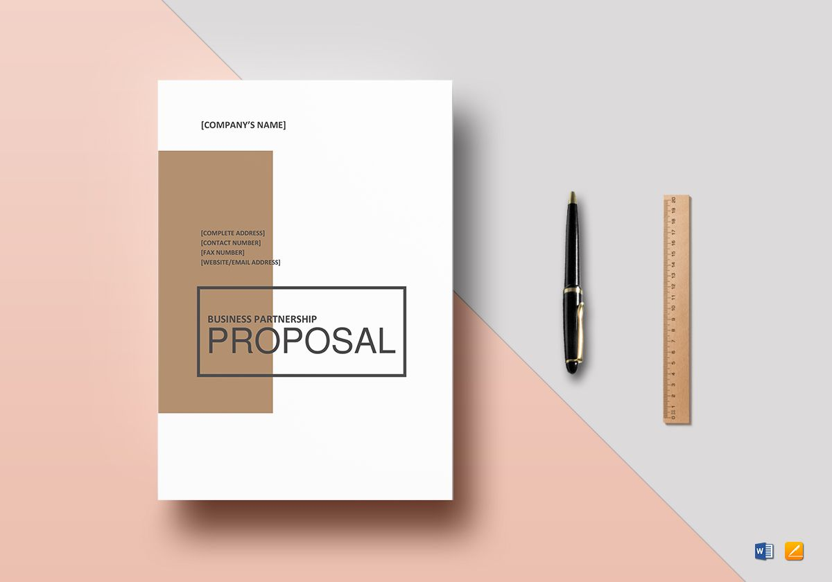 Event Partnership Proposal Template