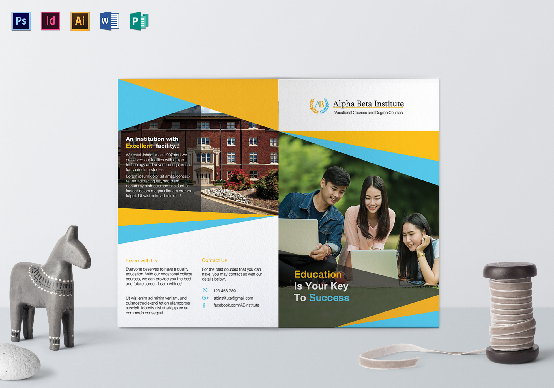 Courses Brochure Template