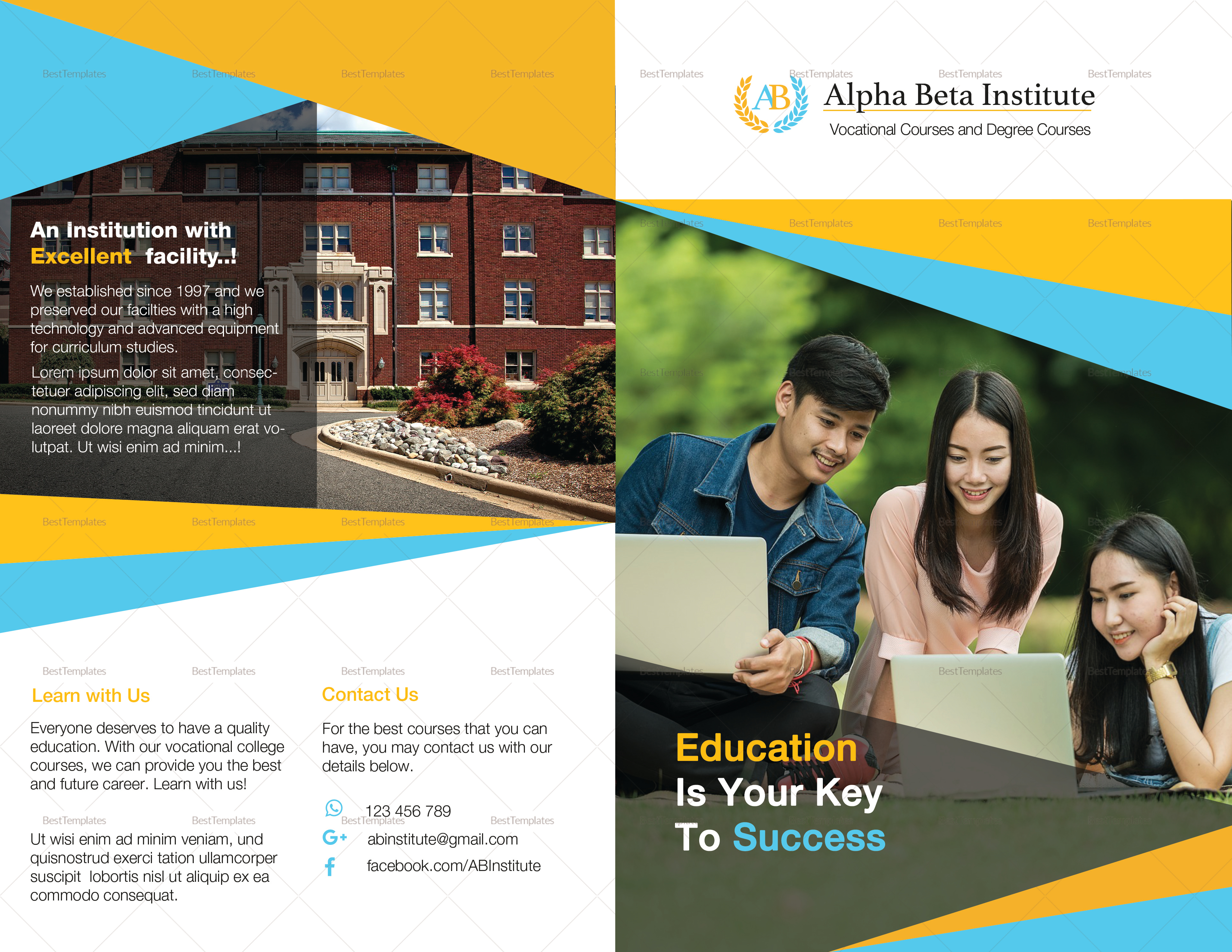 Sample Courses Brochure
