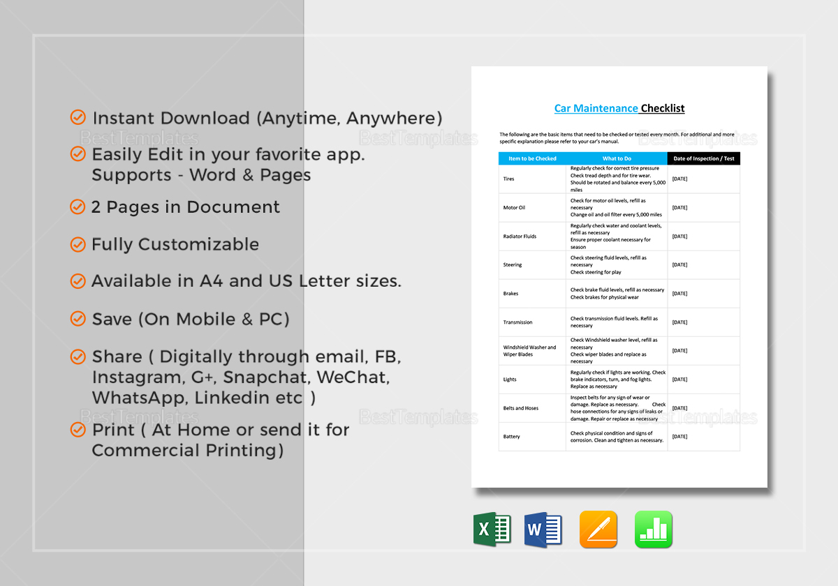 Cleaning service checklist template in word excel apple pages numbers cleaning service checklist template cleaning service checklist template thecheapjerseys Images