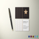 Dotted Business Card Template