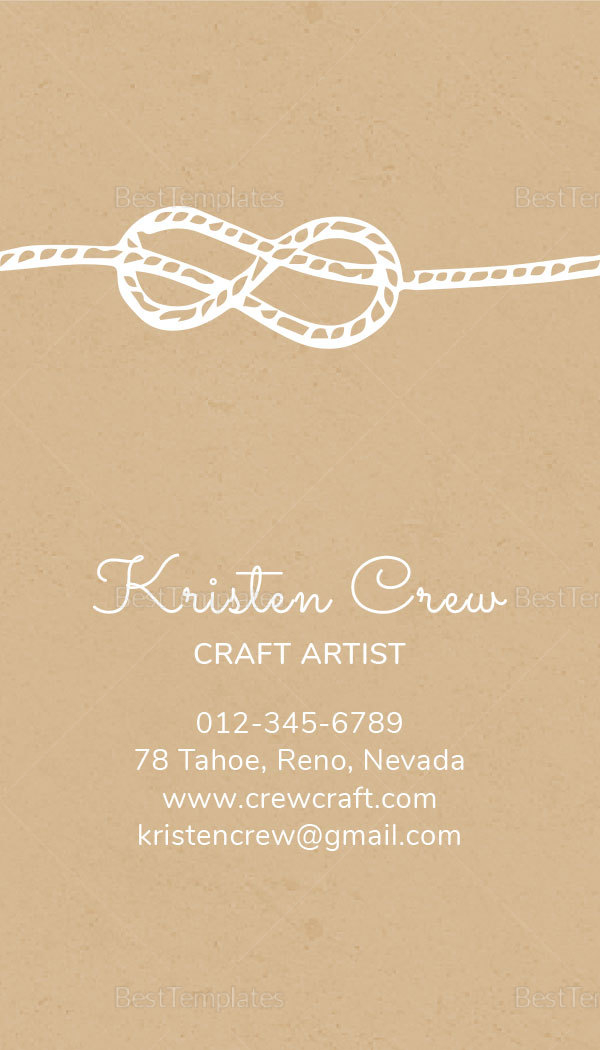 Crafter Business Card