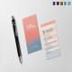 Stylish Iphone Business Card
