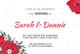 Simple Wedding Invitation Card Design Template