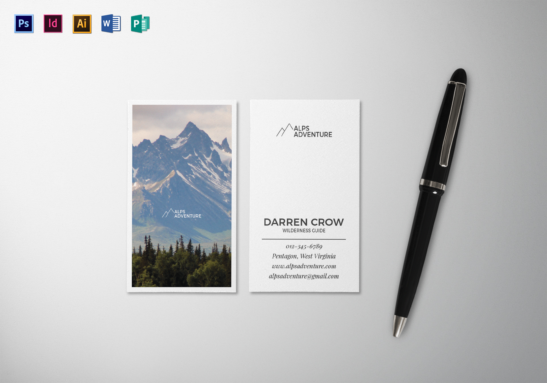 juniper business card template in psd word publisher