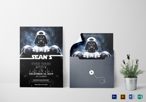 Free Star Wars Birthday Invitation Templates ~ Kids invitation designs templates in word psd publisher