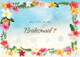 Beach Will You Be My Bridesmaid Card Template