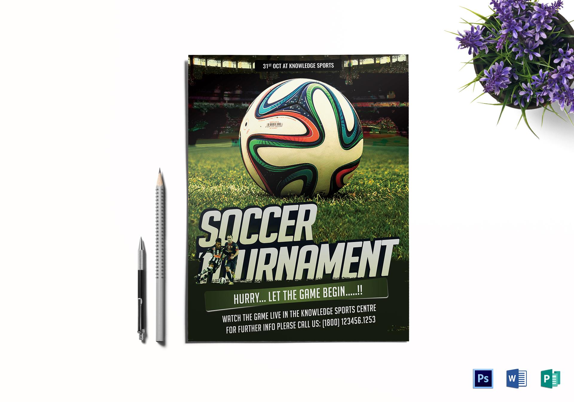 Soccer Tournament Flyer